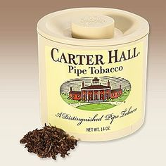 Carter Hall is a benchmark for OTC tobacco. Mellow Burleys are cross-cut and blended with some flake-cut Virginias and finished with a subtle top note. This cool-smoking blend has been part of the American pipe-smoking landscape for decades and delivers a comforting, bite-free experience; an ideal all-day smoke.