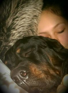 so sweet. precious. Rottweilers are big dogs, with even bigger hearts <3