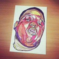 Biggie - Notorious B.I.G A3 print