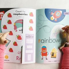 Doing this unit's 'R' activities! This is seriously still one of the best activity books I have ever seen.