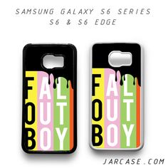 fall out boy Phone case for samsung galaxy S6 & S6 EDGE