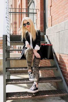 40 Ways to Wear Camo Like a FashionGirl | StyleCaster