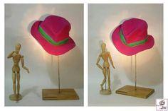 Cappello realizzato con tessuto riciclato. 100% wool Confezionato Artigianalmente. Creazioni Simona Tallaro.