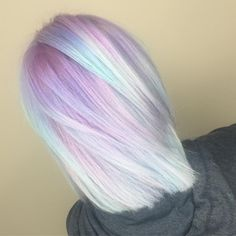 Pastel Milkshake Hair Is the Tasty New Rainbow Hair-Color Trend | Allure