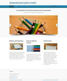 Encore Business Systems - Website Development