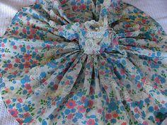 Vintage Taffeta Doll Dress  1950s 1960s Full by bonitalouise