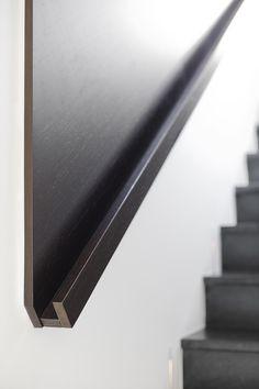 Stair rail detail