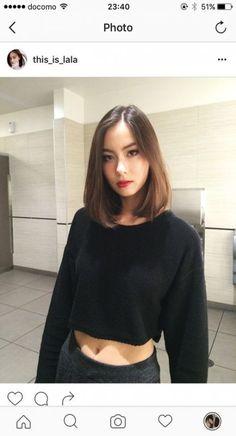 Hair Color Asian Ombre Beauty 68 Best Ideas - All For Hair Color Balayage Asian Short Hair, Medium Short Hair, Medium Hair Cuts, Short Hair Cuts, Medium Hair Styles, Curly Hair Styles, Curly Short, Asian Haircut Short, Short Hair Korean Style