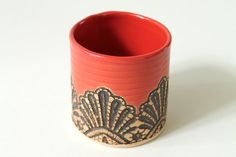 Handmade Moroccan Lace Tumbler in Paprika on Etsy, $35.00