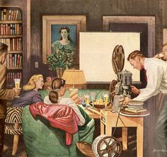 Home Movies Stevan Dohanos c. 1950s