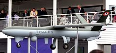 Le Salon du Bourget 2015. The drone  Watchkeeper  Thales was presented on June 18