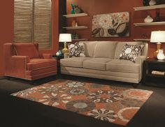 Tanner Stationary Living Room Group by Marshfield