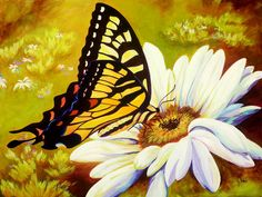 Madame Butterfly Painting  - Madame Butterfly Fine Art Print