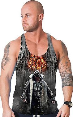 #Bodybuilding clothing all over #print stringer vest gym tank #batman bane  singl,  View more on the LINK: 	http://www.zeppy.io/product/gb/2/201463104162/