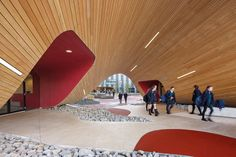 Stunning architectural and interior design for the Infinity Centre, anew senior school for the Penleigh and Essendon Grammar School in Keilor East. http://www.designermelbourne.com.au/