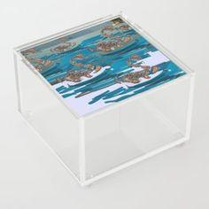 Brooklyn Clear Acrylic Box by Pinkpankpunk - 4 X 4 X 3
