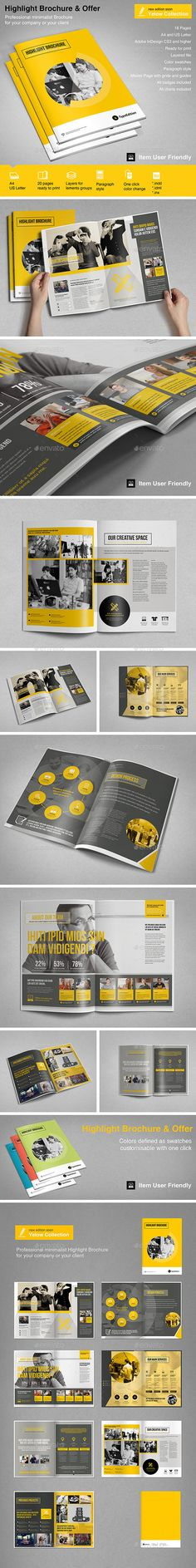 Highlight Brochure Vol. 2 - Informational Brochures