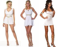 DIY Halloween Costume: Greek Goddess, The Classy Way | lovelyish