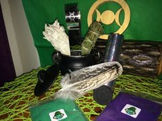 Cauldron Kit,Smudge Kit, Incense Kit, Altar Kit,Cleansing Kit,Greenman Organics,CreationsbyGreenman,Sage and Mugwort Kit,Charcoal Burner Kit by GreenManOrganics on Etsy