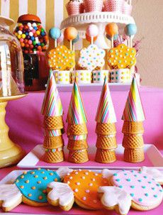 Sweet Shoppe. Perfect for an ice cream social, from Amy Atlas.