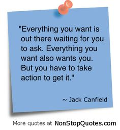 """""""Maximize Your Potential"""" with Jack Canfield Quotes at http://www.yourmotivationpage.com/motivational-speakers/jack-canfield-quotes"""