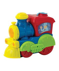 Another great find on #zulily! 'Bump 'n' Go' Bubble Train #zulilyfinds