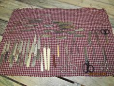 Huge lot Vintage Manicure Tools Metal Emory Boards Scissors Clippers Cuticle pushers - big array Germany USA by EvenTheKitchenSinkOH on Etsy
