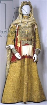 'Golden' bridal costume from Attiki