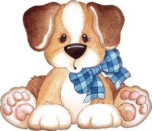 """Photo from album """"Doggy"""" on Yandex. Cute Animal Clipart, Cute Clipart, Tatty Teddy, I Love Dogs, Cute Dogs, Baby Animals, Cute Animals, Cute Animal Illustration, Digi Stamps"""