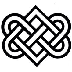 coolTop Meaningful tattoos ideas - Celtic symbol for eternal love Irish symbol of eternal love Celtic Patterns, Celtic Designs, Celtic Love Knot, Celtic Knots, Celtic Love Symbols, Celtic Knot Meanings, Ancient Symbols, Celtic Knot For Family, Mayan Symbols