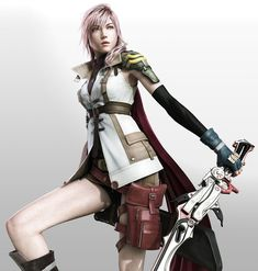 lightning is the lesbian love of my life. the fact that she's a final fantasy character is just a minor set back.