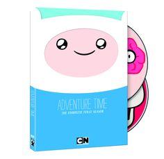 Primera temporada de Hora de Aventuras en DVD. AWESOME PACKAGING #adventuretime
