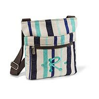 Organizing Shoulder Bag in Cabana Twill Stripe   Thirty-One Gifts