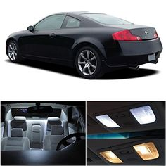LEDpartsNow Infiniti G35 Coupe 2003-2006 Xenon White Premium LED Interior Lights Package Kit (7 Pieces) LEDpartsNow http://www.amazon.com/dp/B00HSHW0VK/ref=cm_sw_r_pi_dp_YGl3ub0JG62KK