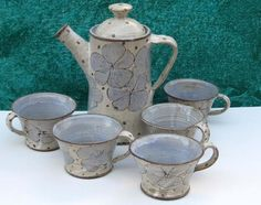 Keramikgedeck /Kaffeeservice