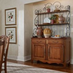 Geneviève Baker S Rack Buffet Cabinet Collection Maison By Ethan Allen