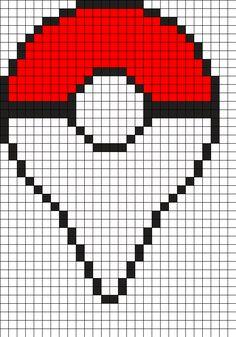 Pokemon_go_dreamcatcher by Caramel_Kame on Kandi Patterns