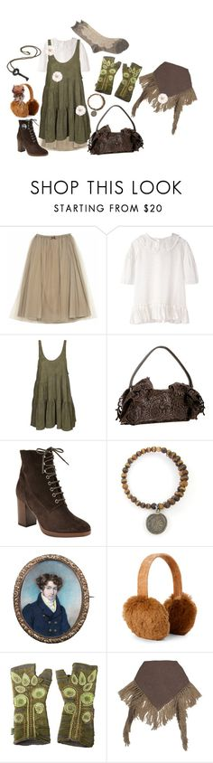"""""""Mori Girl"""" by roseunspindle ❤ liked on Polyvore featuring Charles Anastase, OneTeaspoon, Prada, John Lewis, C-LECTIVE, AnneClaire and Antipast"""