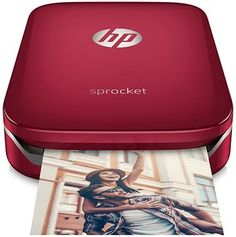 HP Sprocket Photo Printer červená | Alza.cz