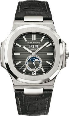 Patek Philippe Nautilus Mens Stainless Steel (Style No: 5726A-001) from SwissLuxury.Com