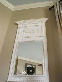 How For Making Candles In Your House - Solitary Interest Or Relatives Affair Diy Trumeau Mirror Simple Furniture, Diy Furniture Plans, Country Furniture, French Furniture, Painted Furniture, Furniture Stores, Mirror Makeover, Diy Mirror, Contemporary Interior Design