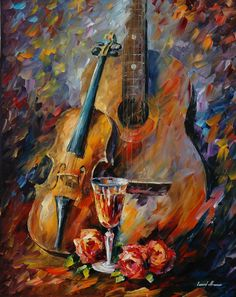 GUITAR AND VIOLIN - by, LEONIDAFREMOV