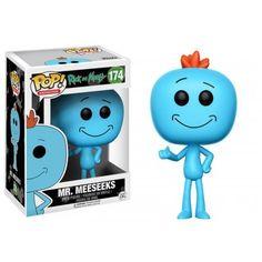 Funko Mania Funko Mr. Meeseeks, Rick and Morty, Cartoon Funko Mania