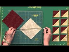 Quick Reminder To Make 8 Half Square Triangles at a Time! Any Size! - Page 2 of 2 - Keeping u n Stitches Quilting | Keeping u n Stitches Quilting