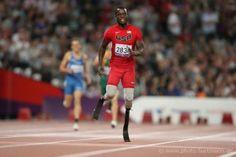 Blake Leeper Leads in a Race