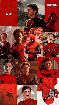Spiderman Wallpaper red aesthetic in 2021 | Tom holland spiderman, Tom holland, Tom holland imagines