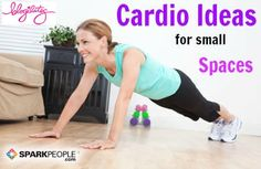 Simple 6-Minute Cardio Workout: This is the perfect calorie burning for traveling! | via @SparkPeople #fitness #holiday #hotel #dorm #apartment #exercise #video