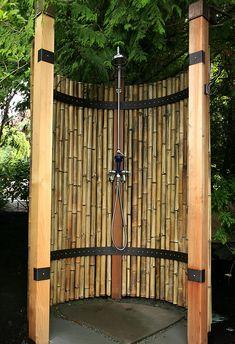 Bamboo shower Native Fox