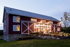 """Takes the phrase """"where you born in a barn?"""" to a whole new level ;)  by Blackburn Architects, PC"""