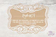 #bodas #ElBlogdeMaríaJosé #familiaresnovios #regla69